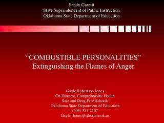 sandy garrett state superintendent of public instruction oklahoma state department of education