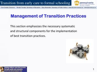 Management of Transition Practices