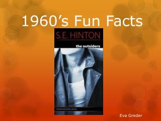 1960's Fun Facts