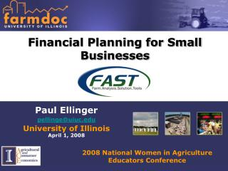 financial planning for small businesses