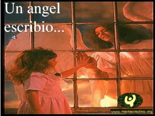 un angel escribio
