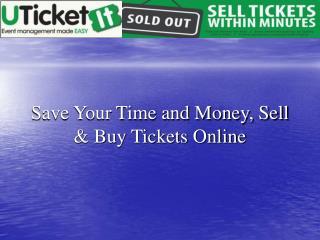 event registrations, event promotion, e-ticketing