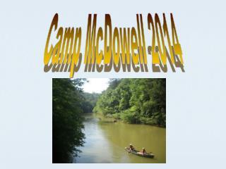 Camp McDowell  2014