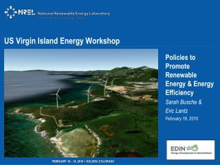 US Virgin Island Energy Workshop