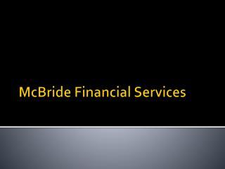 McBride Financial Services