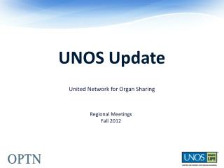 UNOS Update