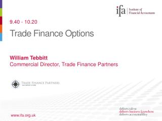 Trade Finance Options