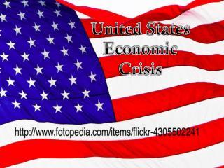 United States Economic Crisis