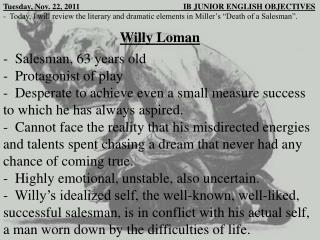 Willy  Loman