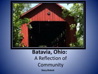 Batavia, Ohio: