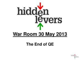 War Room 30 May 2013 The End of QE