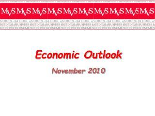 Economic Outlook November  2010
