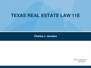 TEXAS REAL ESTATE LAW 11E