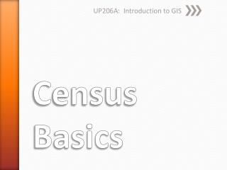 Census Basics