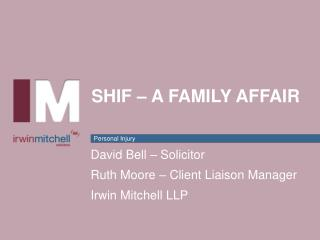 SHIF � A Family affair