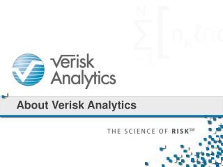 About Verisk Analytics