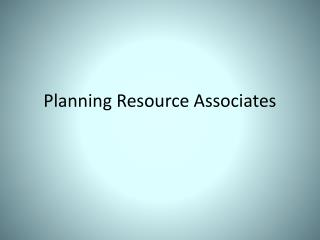 Planning Resource Associates