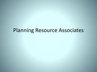 Planning Resource Associates
