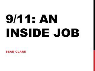 9/11: An Inside job