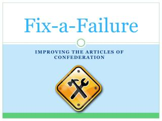 Fix-a-Failure