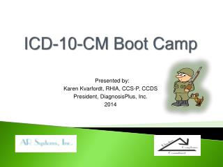 ICD-10-CM Boot Camp