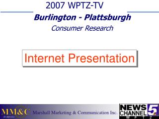 WPTZ Consumer Research - 2007