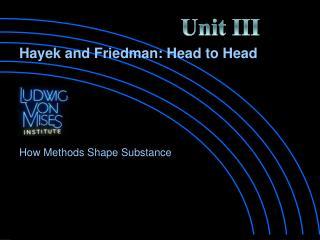 How Methods Shape Substance