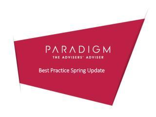 Best Practice Spring Update