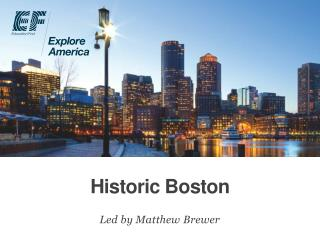 Historic Boston