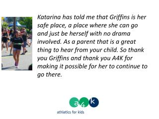 """ Thank you so much. You have no idea, how much this has helped my daughter and the self-esteem gymnastics has built u"