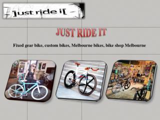 Buy Fixed Gear Bikes