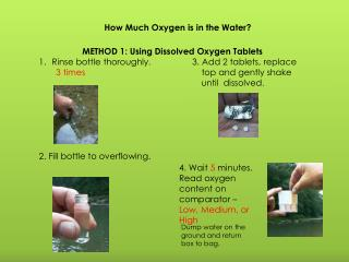 How Much Oxygen is in the Water?