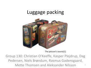 L uggage packing
