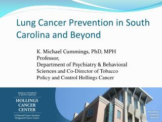 Lung Cancer Prevention in South Carolina and Beyond