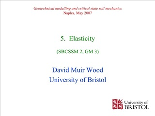 geotechnical modelling and critical state soil mechanics naples ...