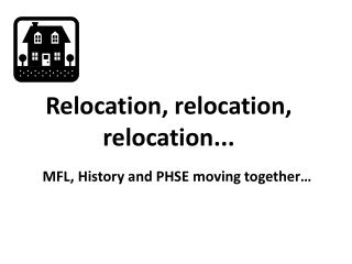 Relocation, relocation, relocation...