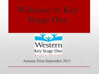 Welcome to Key Stage One