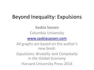Beyond Inequality: Expulsions