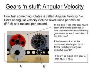 gears  n stuff: angular velocity