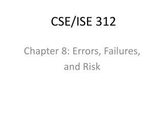 CSE/ISE 312