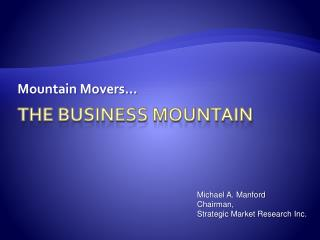 The business mountain