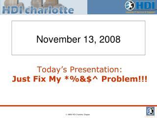 November 13, 2008