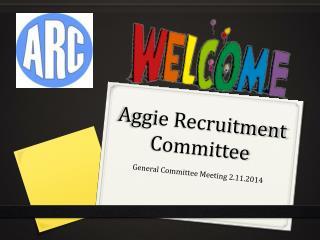 Aggie Recruitment Committee
