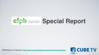 CFPB        Special  Report