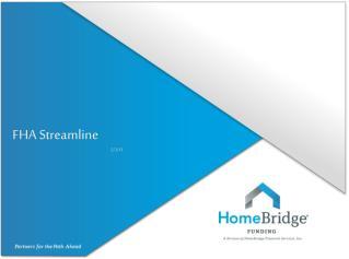 FHA Streamline 5/2/13