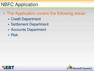 NBFC Application