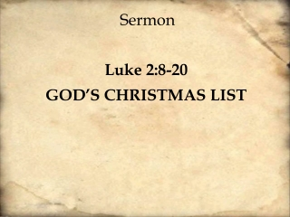 the song of the angels luke 2:1-20