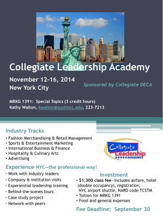 Collegiate Leadership Academy