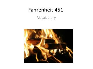fahrenheit 451 social criticism The society that is situated in the novel fahrenheit 451, revolves around social criticism they burn books to create a 'happy' world, but ironically they have a very 'unhappy' world where people are the result of a loss of values and self-worth.