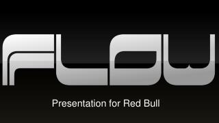 Presentation for Red Bull